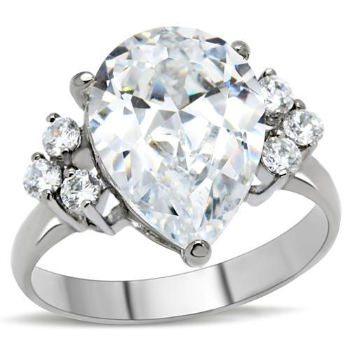 big rock 7 stones cz ring engagement ring parlor587 With big rock wedding rings
